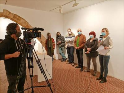 La Sala Portal del Pardo del Vendrell reivindica el paper de les arts visuals com a eina de diàleg i reflexió. Ajuntament del Vendrell