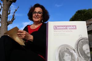 L'escriptora vilanovina Mercè Foradada acaba de publicar 'L'amor quiet' (Saldonar)