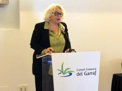 Mònica Gallardo, nova presidenta del Consell Comarcal del Garraf en substitució d'Abigail Garrido. EIX