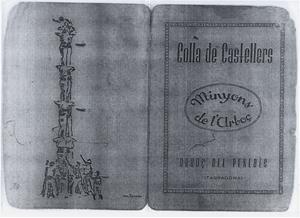 Mor el veterà casteller dels Minyons de l'Arboç Joaquim Sans