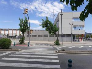 Obres a la ronda Ibèrica per habilitar accessos d'urgència a Mossos i l'hospital