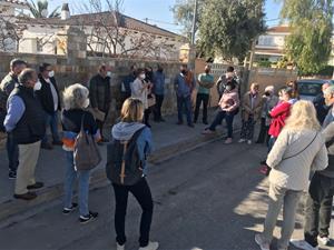 Reunió dels veïns amb els representants municipals