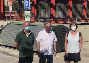 Roda de premsa dels regidors de Vilafranca en Comú