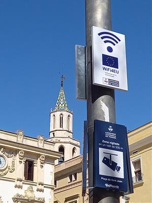 Vilafranca ofereix WI-FI d'accés lliure i gratuït en diversos punts de la ciutat