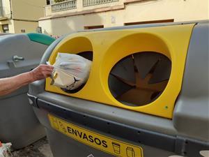 Vilanova vol passar de reciclar el 25% de les deixalles al 60% amb el nou sistema porta a porta