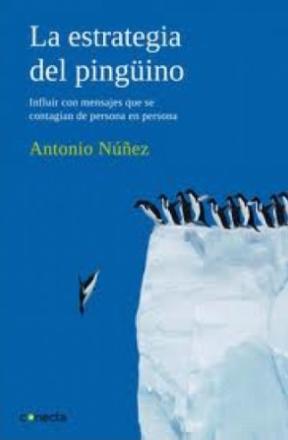 Portada del llibre La estrategia del pingüino