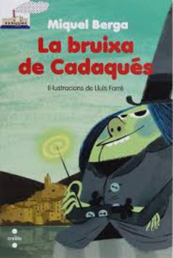 Portada del llibre La bruixa de Cadaqués