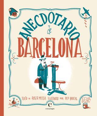 Portada del llibre Anecdotario de Barcelona
