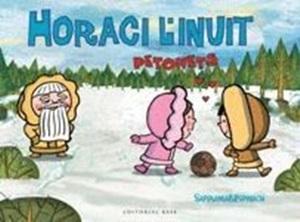 Portada del llibre Horaci l'inuit. Petonets