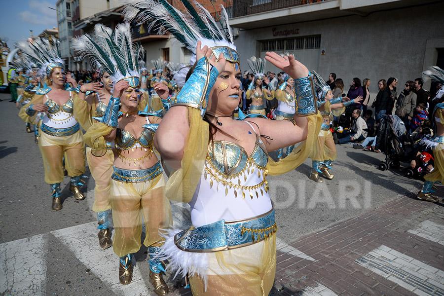 Rua del Carnaval de Santa Margarida i els Monjos 2017. Rua del Carnaval de Santa Margarida i els Monjos 2017