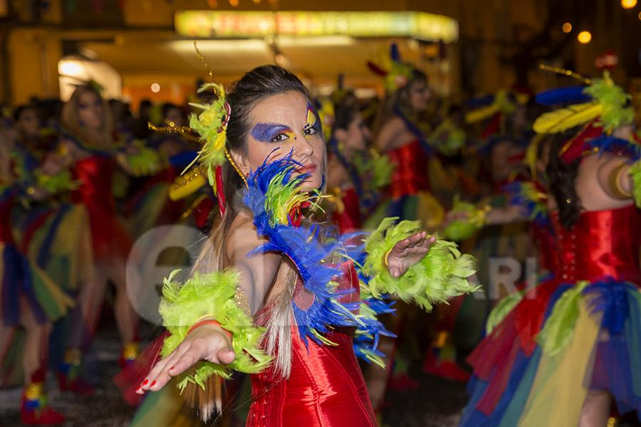 Rua del Carnaval de Les Roquetes del Garraf 2017. Rua del Carnaval de Les Roquetes del Garraf 2017
