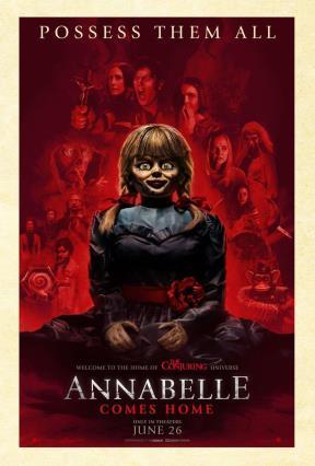 Cartell de ANNABELLE VUELVE A CASA