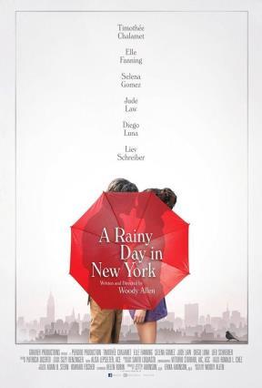 Cartell de DÍA DE LLUVIA EN NUEVA YORK