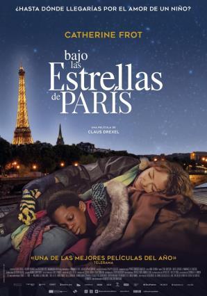 Cartell de BAJO LAS ESTRELLAS DE PARÍS