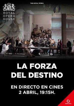 Cartell de LA FORZA DEL DESTINO  (ÒPERA EN DIRECTE ROH)