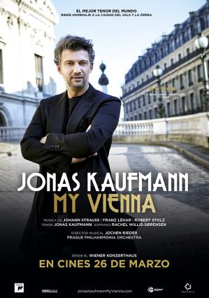Cartell de JONAS KAUFMANN: MY VIENNA