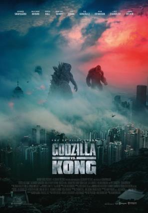 Cartell de GODZILLA VS KONG