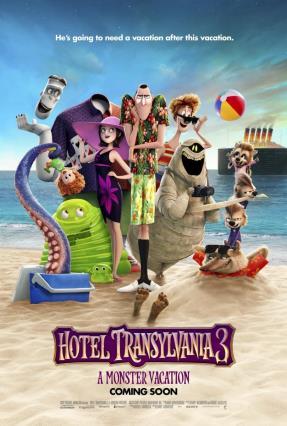 Cartell de HOTEL TRANSILVANIA 3: UNAS VACACIONES MONSTRUOSAS
