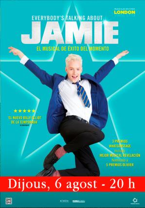 Cartell de EVERYBODY'S TALKING ABOUT JAMIE