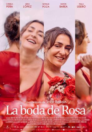 Cartell de LA BODA DE ROSA