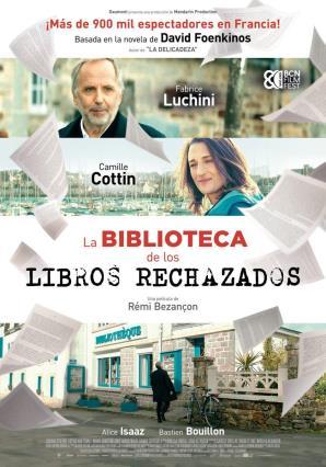 Cartell de LA BIBLIOTECA DE LOS LIBROS RECHAZADOS
