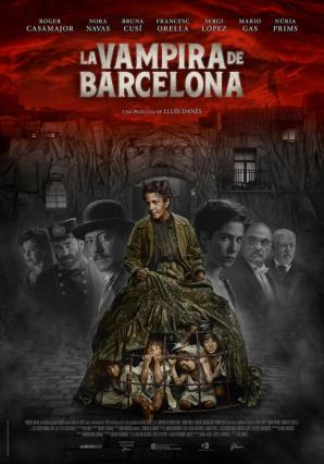 Cartell de LA VAMPIRA DE BARCELONA