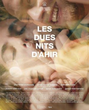 Cartell de LES DUES NITS D'AHIR