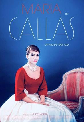 Cartell de MARIA BY CALLAS