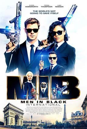 Cartell de MEN IN BLACK INTERNATIONAL