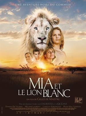Cartell de MIA Y EL LEÓN BLANCO