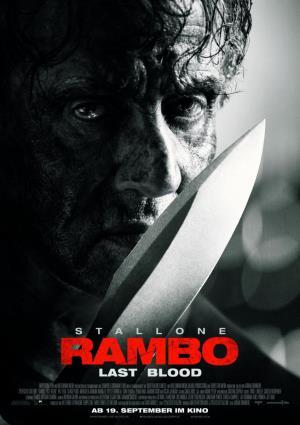 Cartell de RAMBO - LAST BLOOD