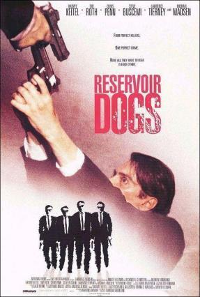 Cartell de RESERVOIR DOGS