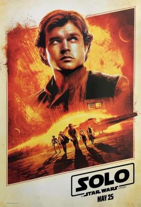 Cartell de HAN SOLO: UNA HISTORIA DE STAR WARS