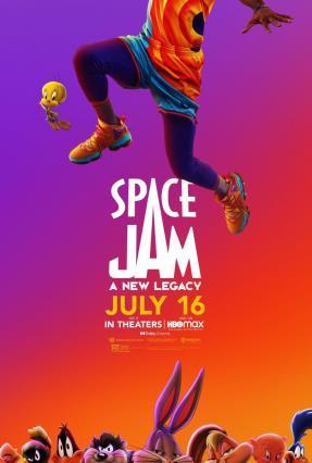 Cartell de SPACE JAM: NUEVAS LEYENDAS