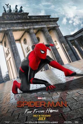 Cartell de SPIDER-MAN: LEJOS DE CASA