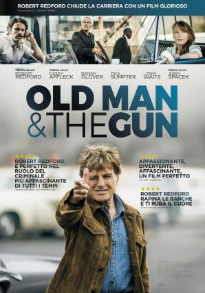 Cartell de THE OLD MAN AND THE GUN