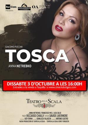 Cartell de TOSCA EN DIRECTO