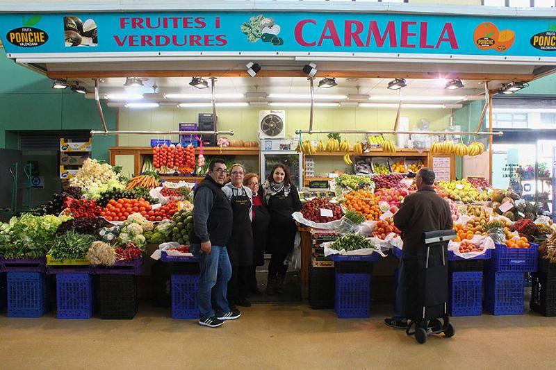 FRUITES I VERDURES CARMELA - Mercat del Centre - Vilanova i la Geltrú. Eix Guia