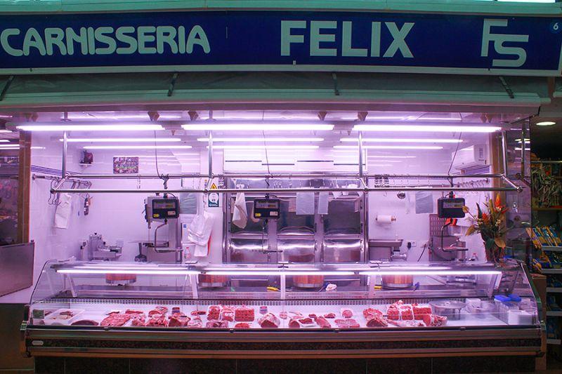 CARNISSERIA FÈLIX - Mercat del Centre - Vilanova i la Geltrú. Eix Guia