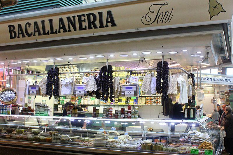 BACALLANERIA TONI - Mercat del Centre - Vilanova i la Geltrú. Eix Guia