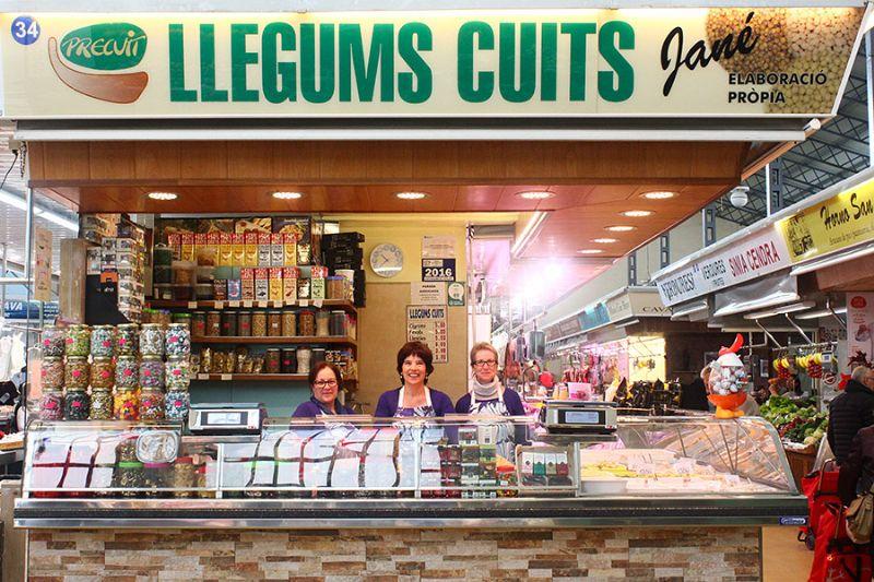 LLEGUMS CUITS I PRECUINATS JANÉ - Mercat del Centre - Vilanova i la Geltrú. Eix Guia