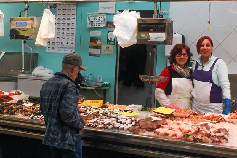 PEIXOS BOQUERA - Mercat del Centre - Vilanova i la Geltrú. Eix Guia