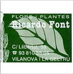 FLORS I PLANTES RICARDO FONT
